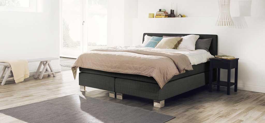 boxspringbetten von jensen svane perfekt liegen. Black Bedroom Furniture Sets. Home Design Ideas
