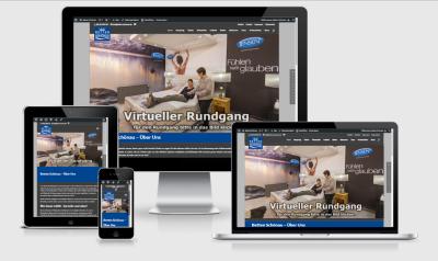 Betten Schönau - Unsere neue Website jetzt auch mit dem Smartphone erreichbar
