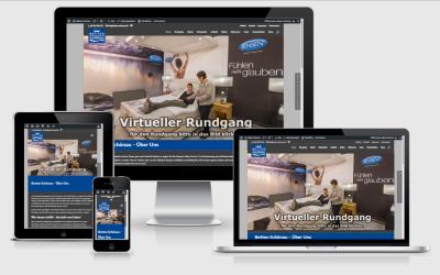 Neue Betten Schönau Website ist online